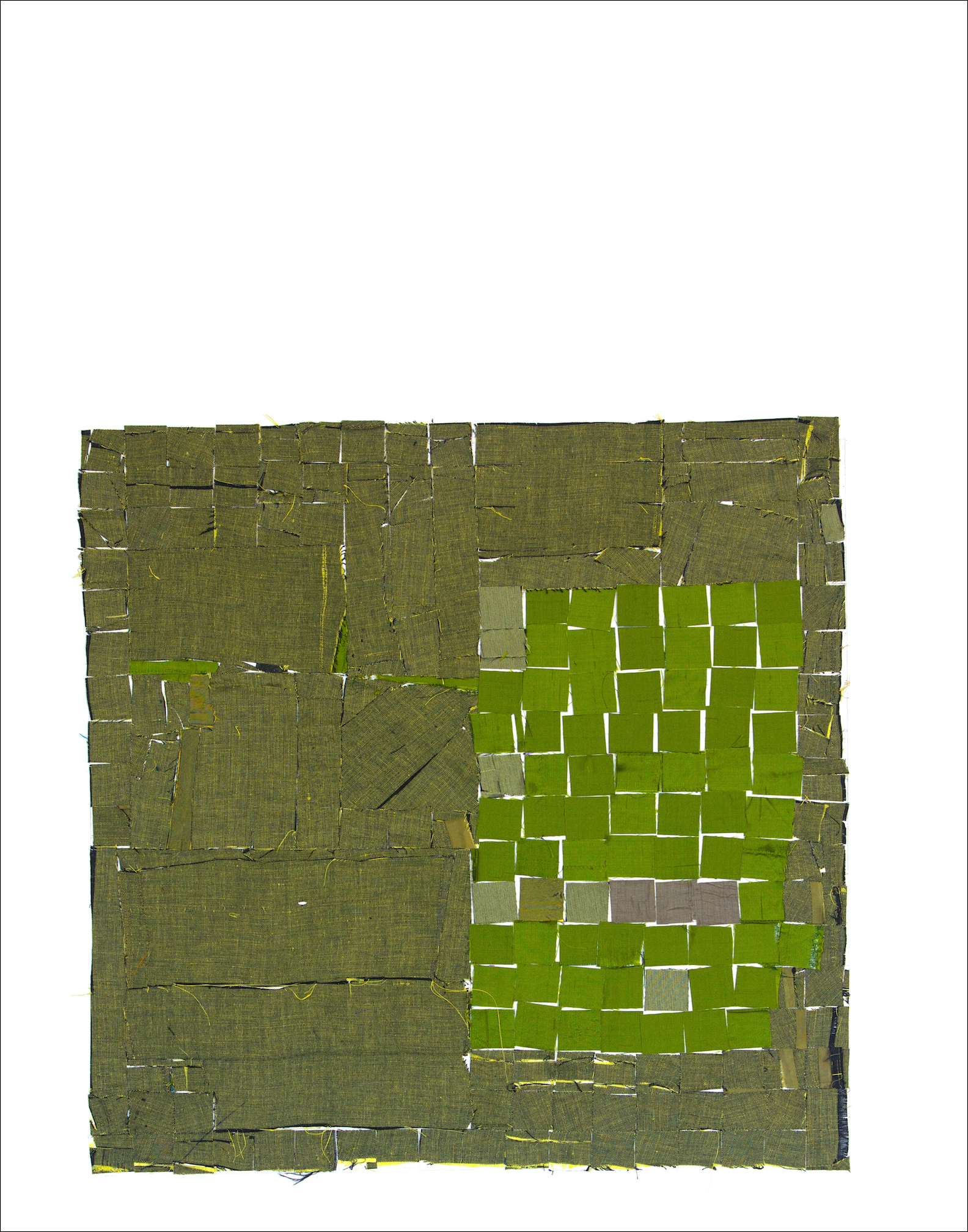 GREEN (shirts) will be in international collage show at Sebastopol Center for the Arts