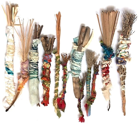 Collection of Natural Brushes to be shown at 3rd St Gallery in SF